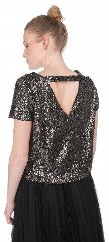 Madison Top Vero Moda   Černá Stříbrná   Dámské   XS