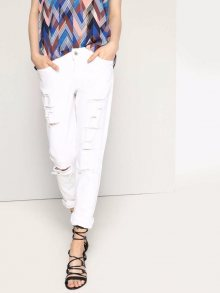 Kalhoty bílá 42
