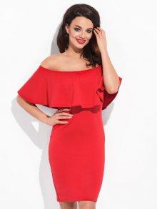 Cocoviu Dámské šaty M01A_red
