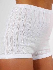 AB Tricot Dámské kalhotky RDM 005 W SHORTY WHITE SET OF 2 (2 kusy)