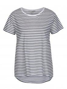 Černo-bílé pruhované tričko TALLY WEiJL