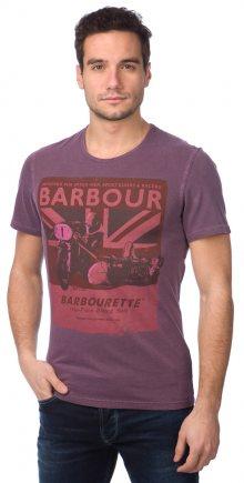 Barbour Tričko MTS0125_aw15 S fialová