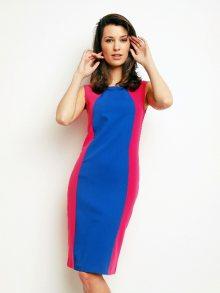 Karen Dámské šaty H70_PINK_COBALT