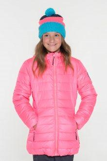Sam 73 Dívčí jednobarevná bunda Sam 73 růžová světlá 128