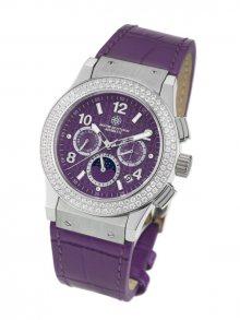 Mathis Montabon Dámské automatické hodinky MM-28 Noblesse Lady violett\n\n