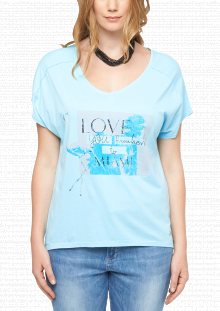 s.Oliver Dámské tričko 322376_506tri modrá