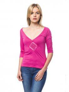 Trussardi Collection Dámské tričko D34TRC1023_Rosa/Pink