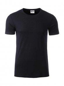 Pánské tričko Organic JN - černá L