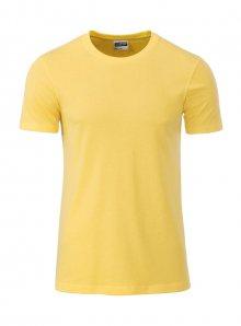 Pánské tričko Organic JN - Žlutá L