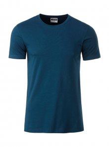Pánské tričko Organic JN - Modrá XL