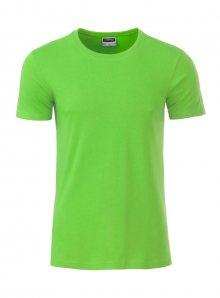 Pánské tričko Organic JN - Limetková L