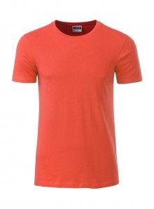 Pánské tričko Organic JN - Korálová M