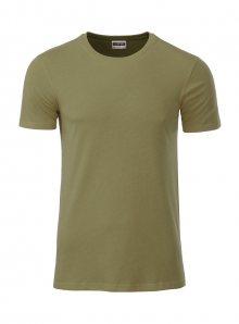Pánské tričko Organic JN - Khaki M