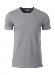 Pánské tričko Organic JN - Šedá XL