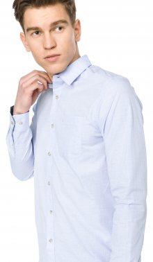 Dobby Košile Calvin Klein | Modrá | Pánské | M