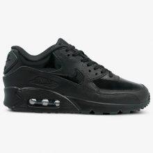 Nike Wmns Air Max 90 Lea Ženy Boty Tenisky 921304002 Ženy Boty Tenisky Černá US 6