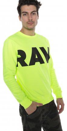 Vilsi Mikina G-Star RAW | Žlutá | Pánské | L