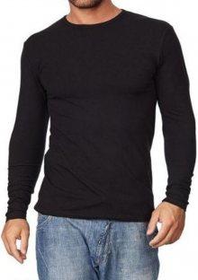 Pánské tričko Cornette 525 černá L Černá