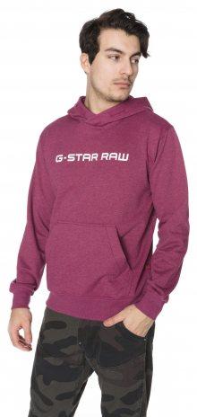 Loaq Mikina G-Star RAW | Růžová Fialová | Pánské | L