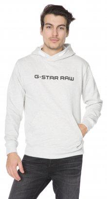 Loaq Mikina G-Star RAW   Bílá Šedá   Pánské   L