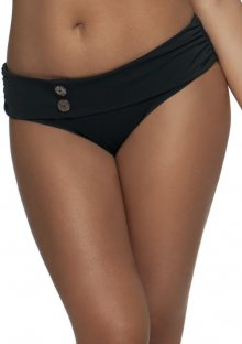 Plavkové kalhotky Curvy Kate Luau Love CS1925 S Černá