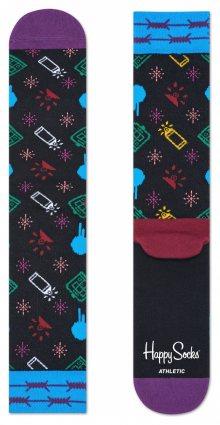 Happy Socks X MONTANA CANS Ponožky Happy Socks   Černá Vícebarevná   Pánské   41-46