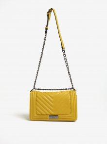 Žlutá prošívaná kabelka Gionni Carmel