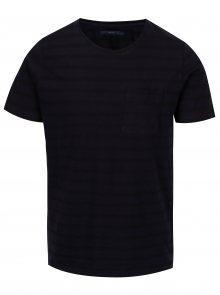 Tmavě modré tričko s náprsní kapsou SUIT Nimbus