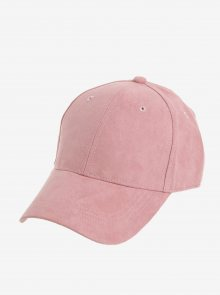 Růžová kšiltovka Pieces Myrna