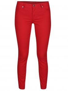 Červené skinny džíny Jacqueline de Yong New Five