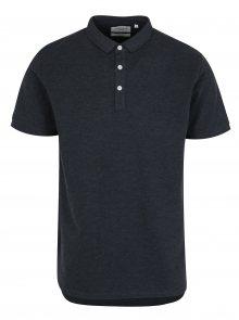 Tmavě modré pánské polo tričko Lindbergh