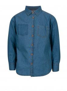 Tmavě modrá klučičí džínová košile 5.10.15.