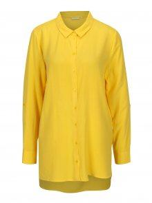 Žlutá dlouhá košile Jacqueline de Yong Togo