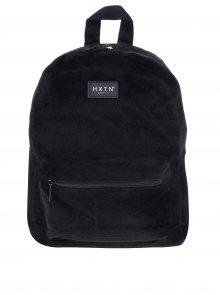 Černý batoh z umělé kožešiny HXTN supply 12 l