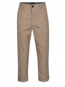 Béžové chino kalhoty SUIT Tyson
