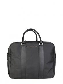 Trussardi Jeans Pánská cestovní taška 71B985T_NERO