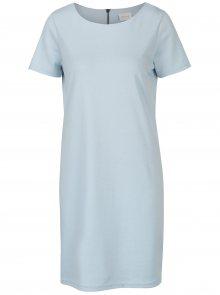 Světle modré šaty s krátkým rukávem VILA Tinny