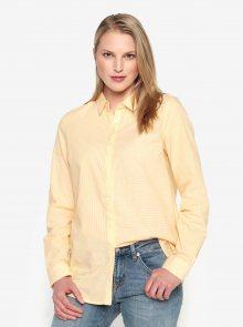 Žlutá pruhovaná košile Selected Femme Noella