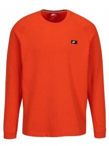 Oranžová pánská mikina Nike