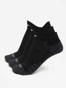 Sada tří párů dámských ponožek v černé barvě Nike Dry Cushion Low
