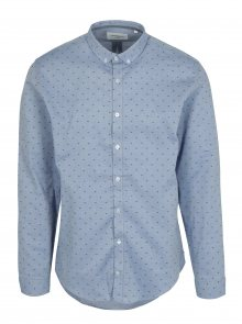 Modrá vzorovaná košile Lindbergh