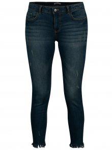 Tmavě modré skinny džíny Jacqueline de Yong Flora