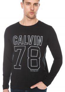 Timball 3 Triko Calvin Klein   Černá   Pánské   S
