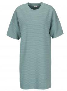 Modré žebrované šaty Jacqueline de Yong Amara