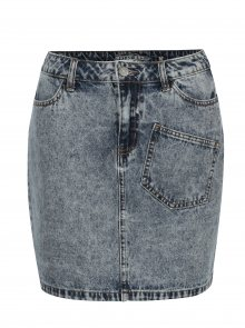 Modrá džínová mini sukně Noisy May Sophia