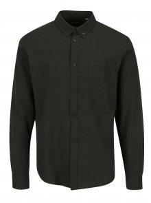 Zelená slim fit košile ONLY & SONS Alvaro
