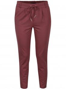 Tmavě růžové kalhoty ONLY Poptrash