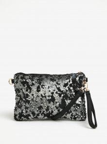 Černá crossbody kabelka s flitry Haily\'s Carla