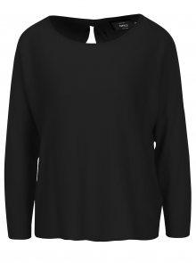 Černý lehký svetr s mašlí na zádech ONLY Sophina