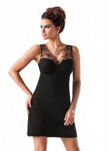 Donna Evita noční košilka XXL černá